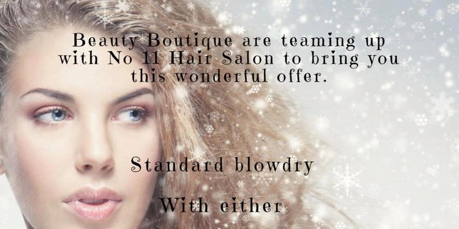 No 11 The Salon and Beauty Boutique party special offer