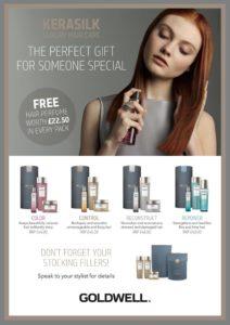 Kerasilk gift set offer with free perfume